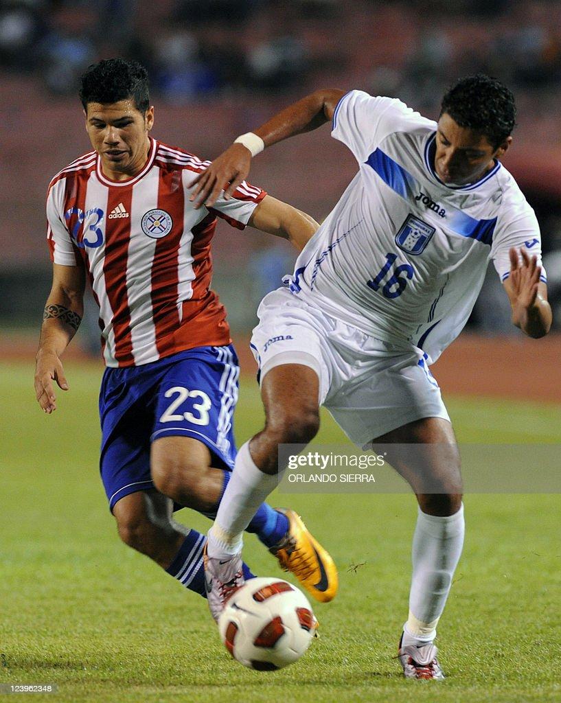 s robin ramirez l vies for th pictures getty images s robin ramirez l vies for the ball honduran mauricio sabillon r