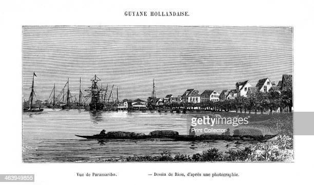 Paramaribo Republic of Suriname 19th century