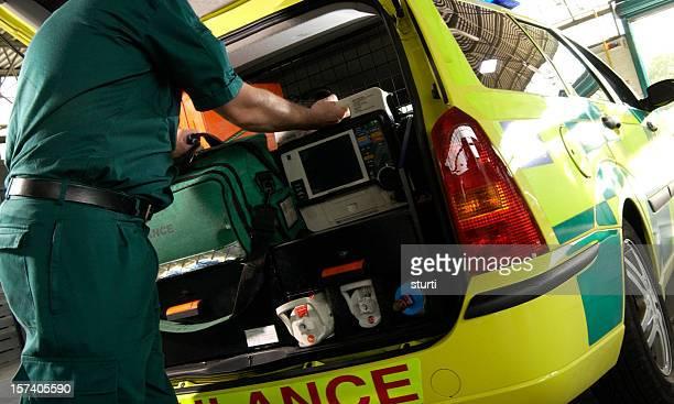 Auxiliaire médical alerte