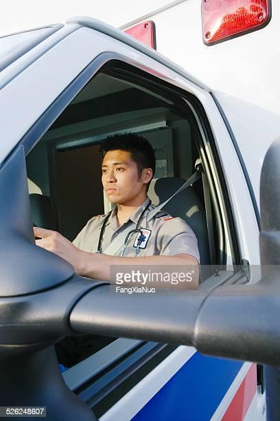 Técnico en urgencias médicas conducción de ambulancia