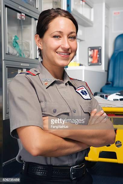 Paramedic, portrait