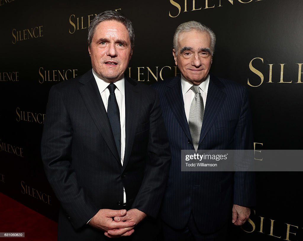 Paramount Pictures CEO Brad Grey and Martin Scorsese attend the premiere of Paramount Pictures' 'Silence' at the Directors Guild Of America on January 5, 2017 in Los Angeles, California.