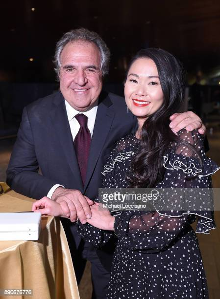 Paramount Pictures CEO Jim Gianopulos and actress Hong Chau attend the after party for the New York screening of 'Downsizing' at Lincoln Ristorante...