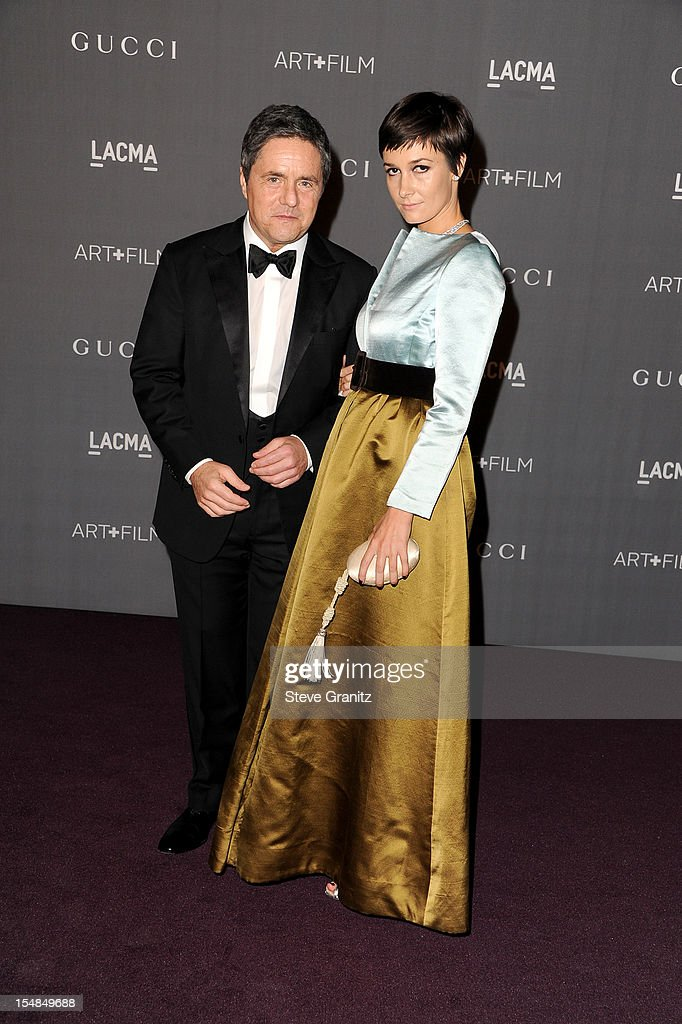 Paramount Pictures Chairman and CEO Brad Grey and Cassandra Huysentruyt Grey arrive at LACMA Art + Gala at LACMA on October 27, 2012 in Los Angeles, California.