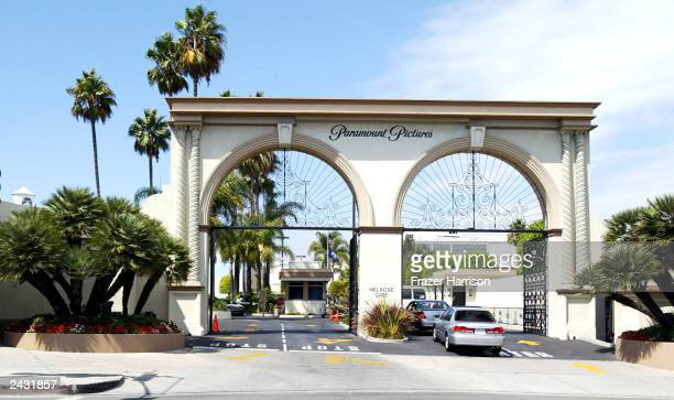 Paramount Studios is shown August 26 2003 in Hollywood California