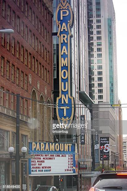 Paramount Theater Downtown, Seattle