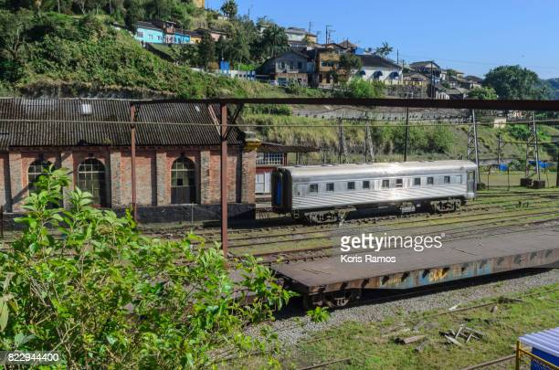 Paranapiacaba and its ancient railroads and trains