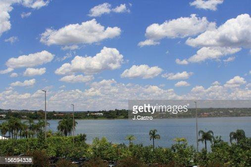 Paranoa Lake, Brasília : Stock Photo