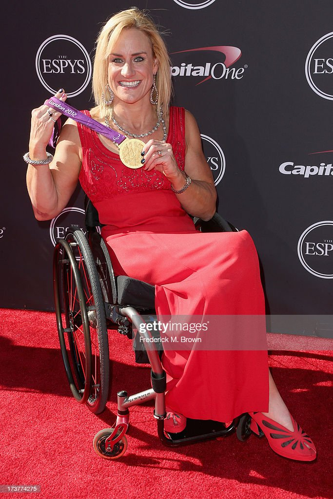Paraolympic athlete Muffy Davis attends The 2013 ESPY Awards at Nokia Theatre L.A. Live on July 17, 2013 in Los Angeles, California.
