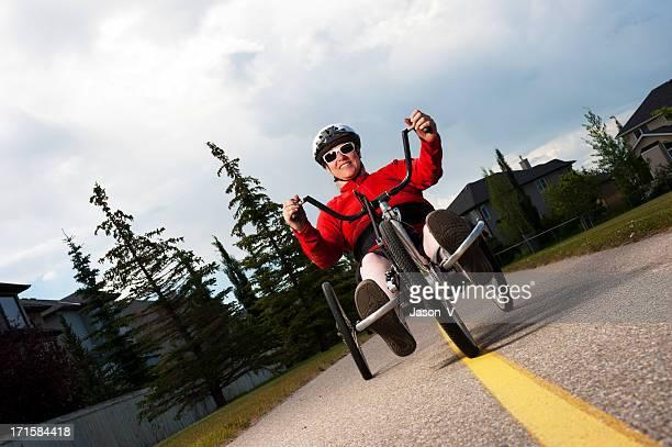 Paraplegic Hand biking