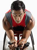 Paraplegic Racer