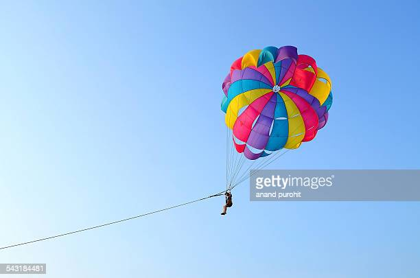 Parasailing at Nagoa Beach, Diu, india