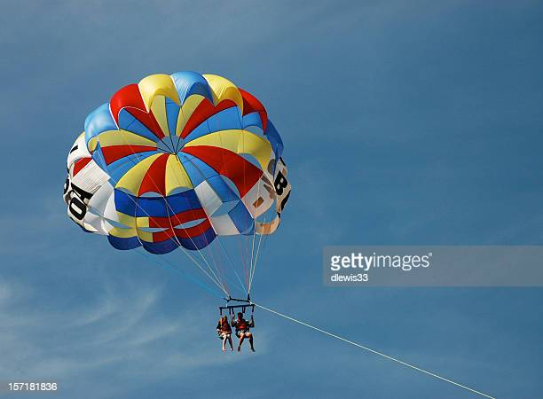 Parasailing Couple
