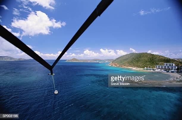Parasailing Over the Caribbean