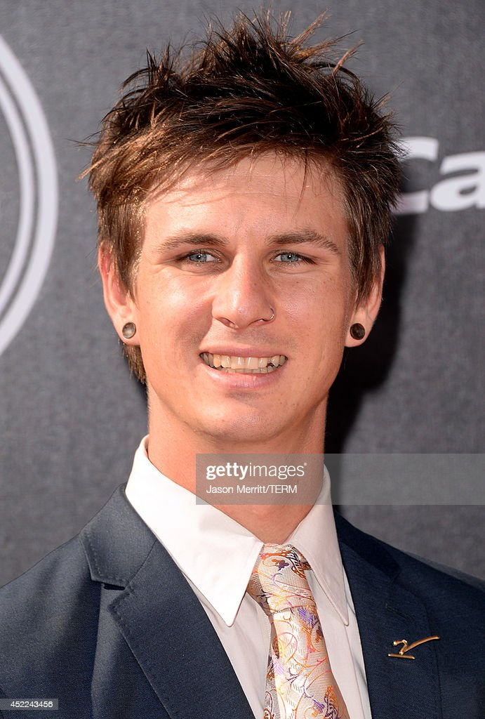 Para-snowboard cross racer Evan Strong attends The 2014 ESPYS at Nokia Theatre L.A. Live on July 16, 2014 in Los Angeles, California.