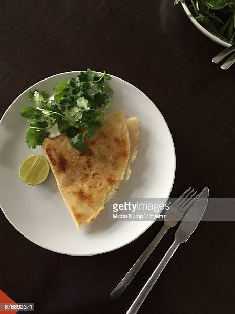 Paratha On Plate