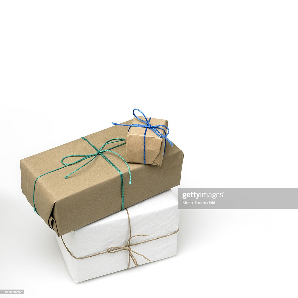 Parcels : Stock Photo