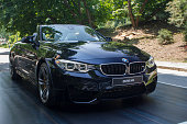 M4 Parco Valentino car show hosted 93 cars by many automobile manufacturers and car designers inside Valentino Park