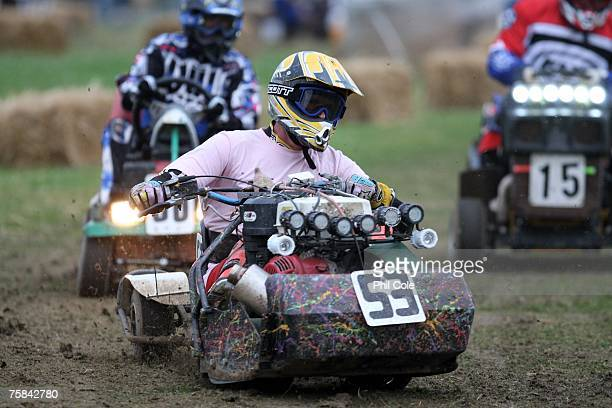 off road mower lawn mower racing stock photos and pictures getty images