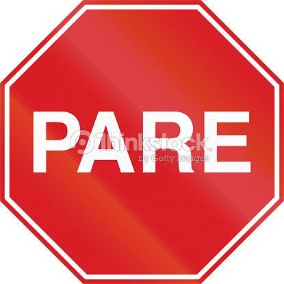 Pare panneau en argentine photo thinkstock - Prix d un panneau stop ...
