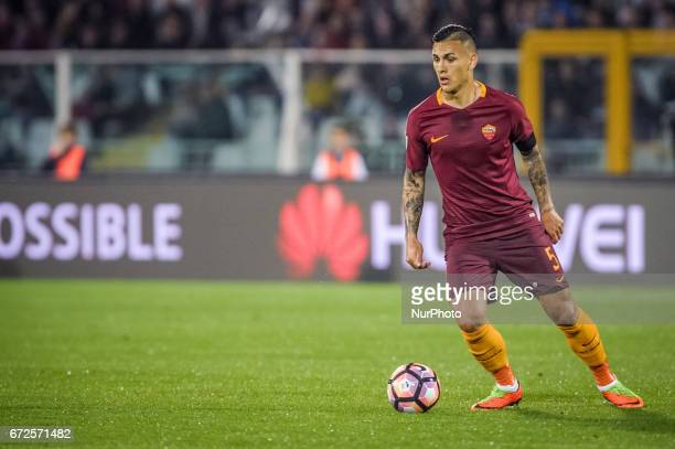 Paredes Leandro during the Italian Serie A football match Pescara vs Roma on April 24 in Pescara Italy