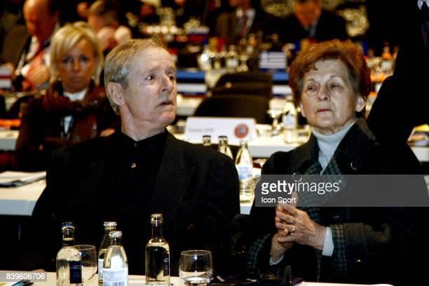 Parent de Michel PLATINI Eletcion a la Presidence de l'UEFA Dusseldorf Allemagne