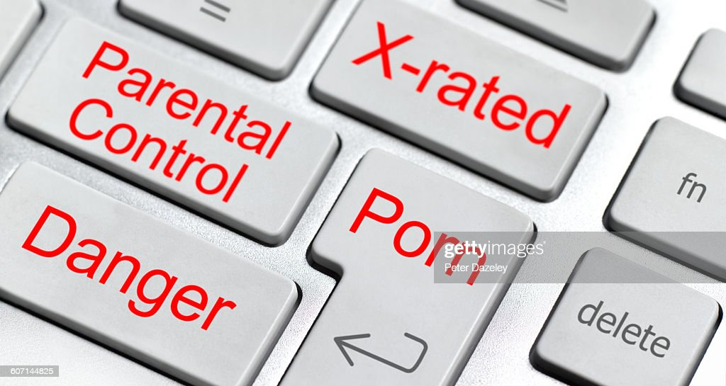 Parental control keyboard