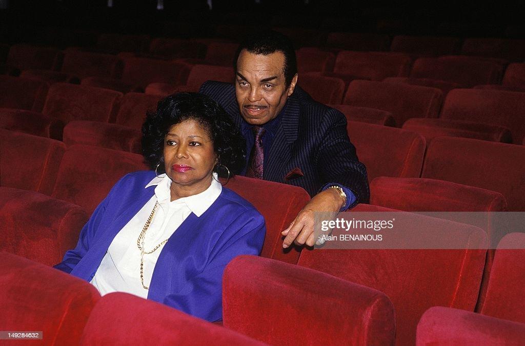 Parents Joseph And Katherine Jackson on March 20, 1993 in Geneva, Switzerland.