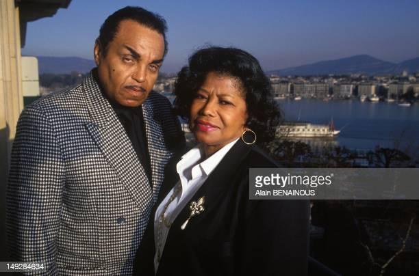 Parents Joseph And Katherine Jackson on March 20 1993 in Geneva Switzerland