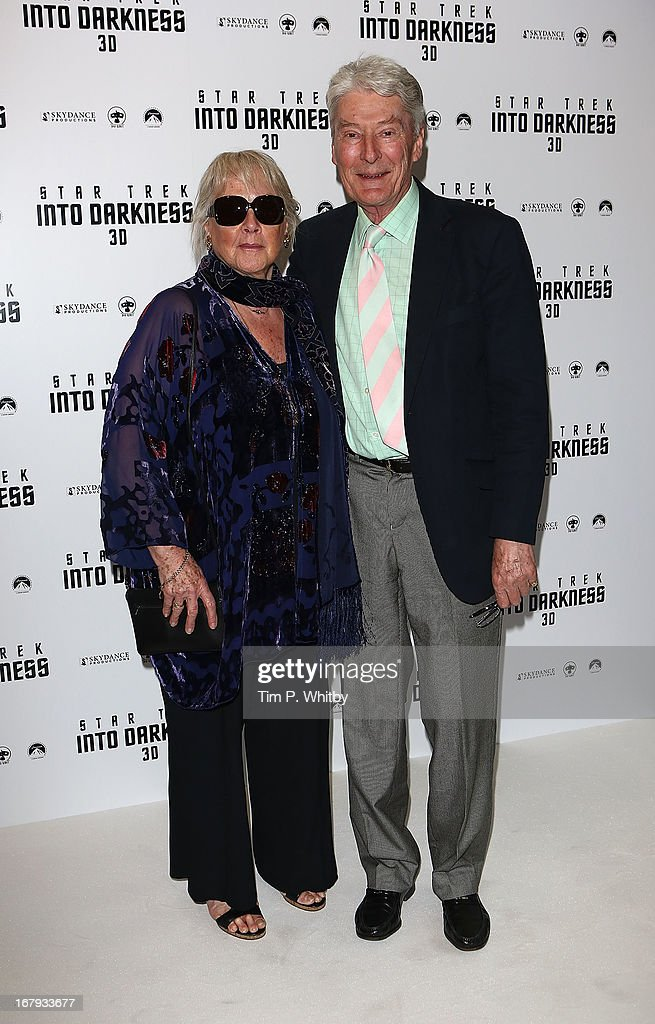 Parents of Benedict Cumberbatch and actors Wanda Ventham and Timothy Carlton attend the IMAX 3D Premiere of 'Star Trek Into Darkness' at BFI IMAX on May 2, 2013 in London, England.