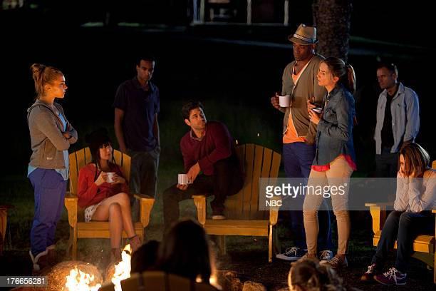 CAMP 'Parents' Weekend' Episode 106 Pictured Dena Kaplan as Sarah Brenner Charlotte Nicdao as Grace Adam Garcia as Todd Chris Kirby as Raffi...