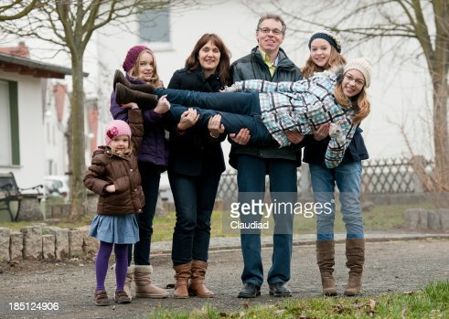Parents with daughters