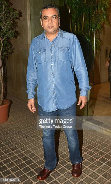 Paresh Rawal at the special screening of the movie Ki and Ka in Mumbai