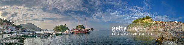 Parga's port (Bodes) panorama