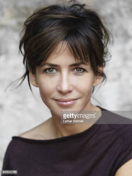 Actress Sophie Marceau poses at a portrait session in Paris on September 12 2009