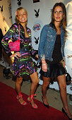 Paris and Nicky Hilton during Playboy's Annual Super Saturday Night Event Brings 'Heaven and Hell' to Houston at Corinthian in Houston Texas United...