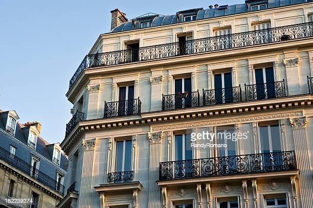パリのアパートメント
