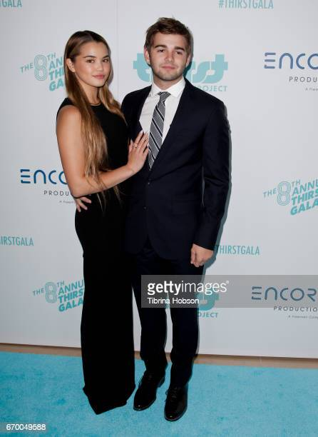 Paris Berelc and Jack Griffo attend the 8th annual Thirst Gala at The Beverly Hilton Hotel on April 18 2017 in Beverly Hills California
