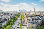Paris cityscape - Tilt shift