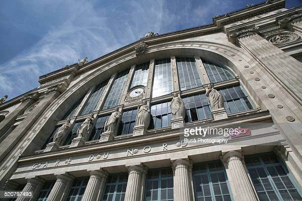 Paris, entrance of Gare du Nord