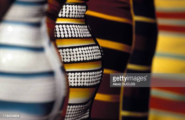 Paris Fashion Ready To Wear Spring / Summer 97 On October 1st 1996 In Paris France Herve Leger