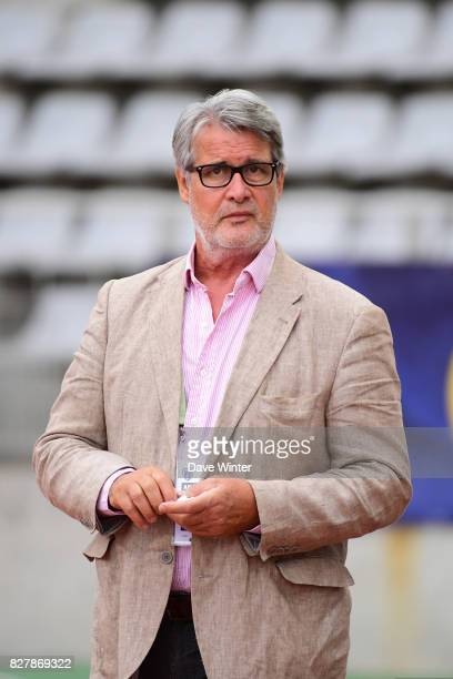 Paris FC academy president Patrick Gobert during the first round of French League Cup match between Paris FC and Brest on August 8 2017 in Paris...