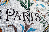 'Paris' - floor mosaic