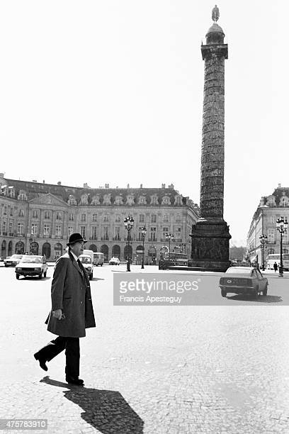 Paris France American actor Gregory Peck