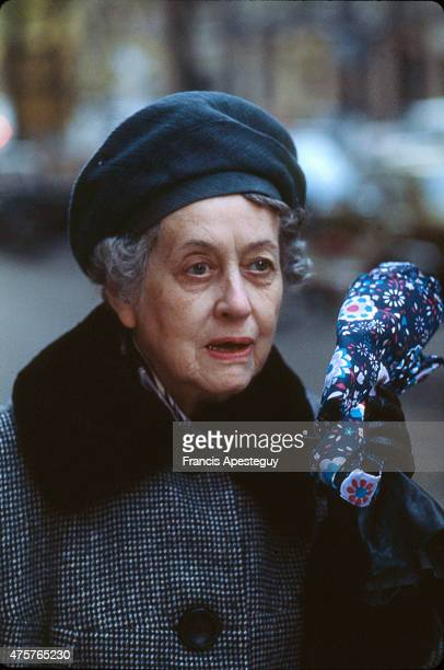 Paris France Yvonne de Gaulle wife of Charles de Gaulle and former first lady of France