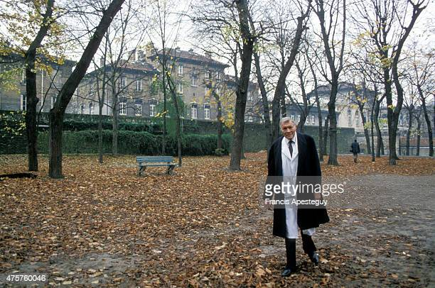 Paris France French cardiologist Christian Cabrol at the Salpetriere Hospital