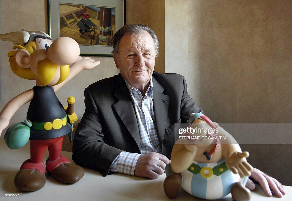 Image result for albert uderzo