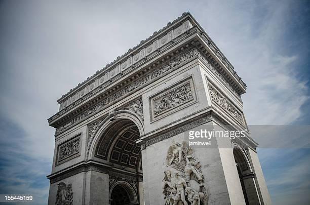 Paris France; Arc de Triomphe