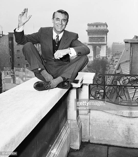Cary Grant in Paris Undated photograph
