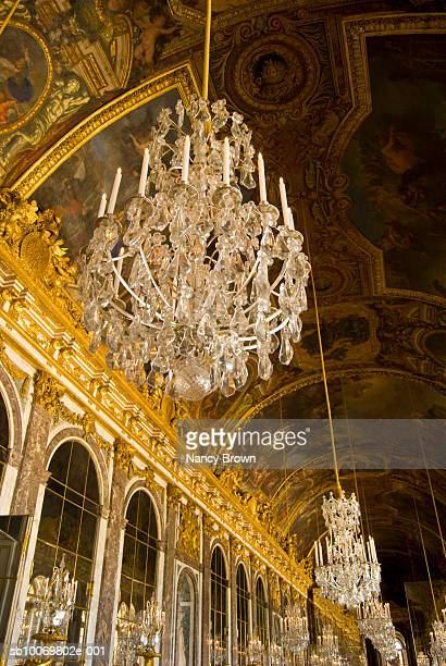 Paris, France, Palace of Versailles, Hall of Mirrors (Galerie des Gaces)